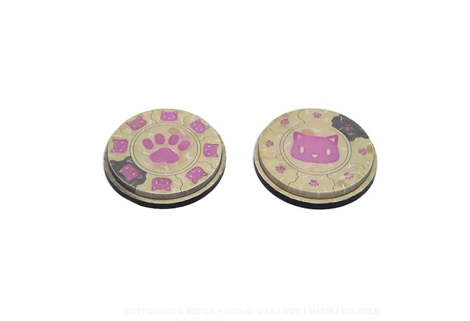 B 004 – 2 Kitty Bases – 55 mm